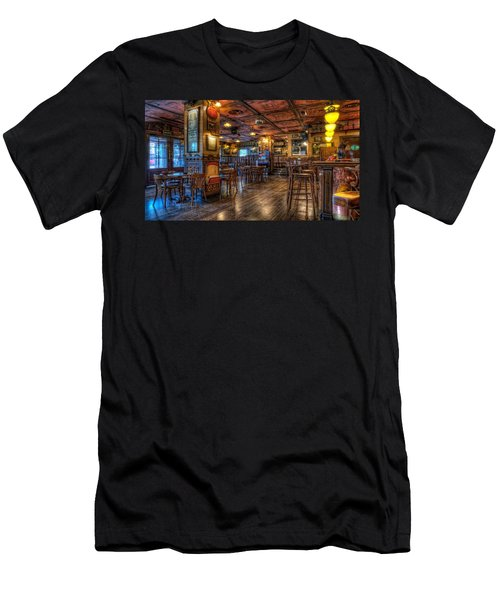Bar Men's T-Shirt (Athletic Fit)