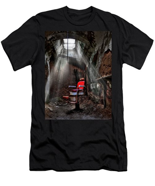 Barber Shop Men's T-Shirt (Athletic Fit)
