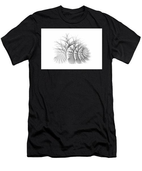 Bare Trees Daylight Men's T-Shirt (Athletic Fit)