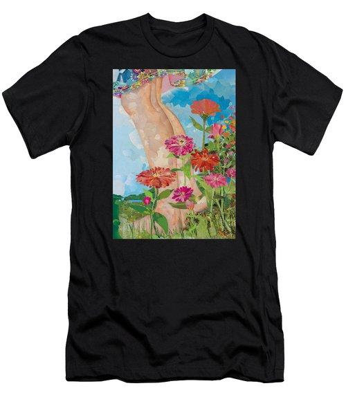 Barefoot Men's T-Shirt (Athletic Fit)