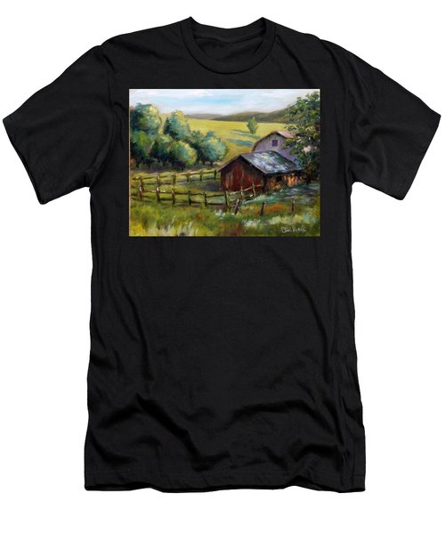 Barn And Field Men's T-Shirt (Athletic Fit)
