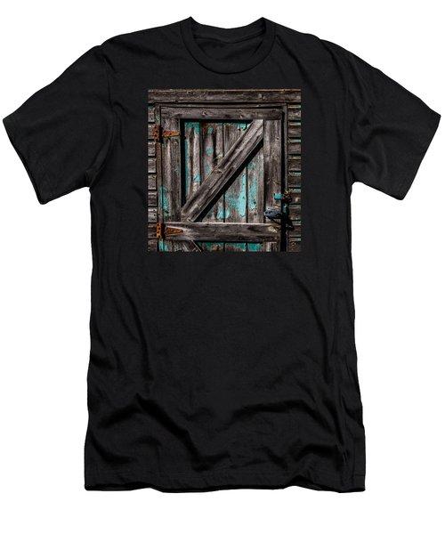 Barn Door Men's T-Shirt (Athletic Fit)