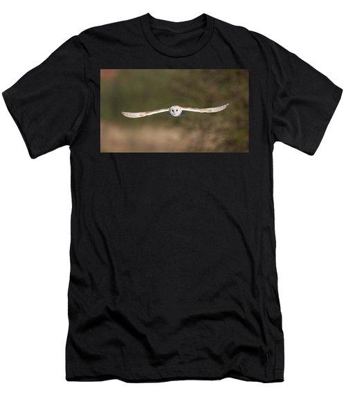 Barn Owl Wingspan Men's T-Shirt (Athletic Fit)