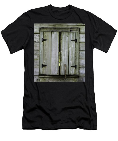 Barn Window, In Color Men's T-Shirt (Athletic Fit)