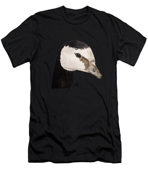 Barnacle Goose Portrait Men's T-Shirt (Athletic Fit)