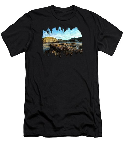 Barnacles On The Beach Men's T-Shirt (Athletic Fit)