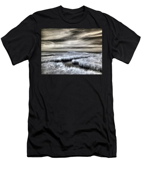 Barnegat Bay New Jersey Men's T-Shirt (Athletic Fit)