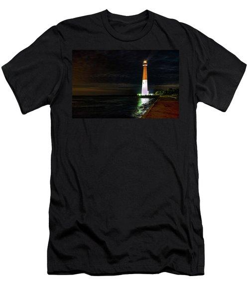 Barnegat Lighthouse Men's T-Shirt (Athletic Fit)