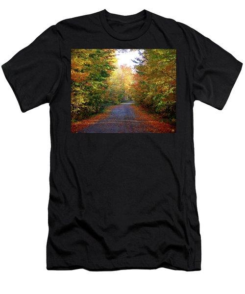 Barnes Road - Cropped Men's T-Shirt (Athletic Fit)