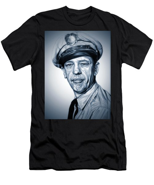 Barney Fife Men's T-Shirt (Slim Fit) by Fred Larucci