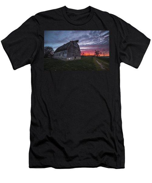 Barny Rise  Men's T-Shirt (Athletic Fit)