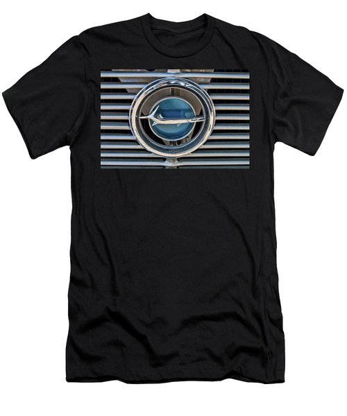 Men's T-Shirt (Athletic Fit) featuring the photograph Barracuda Emblem by Kristia Adams