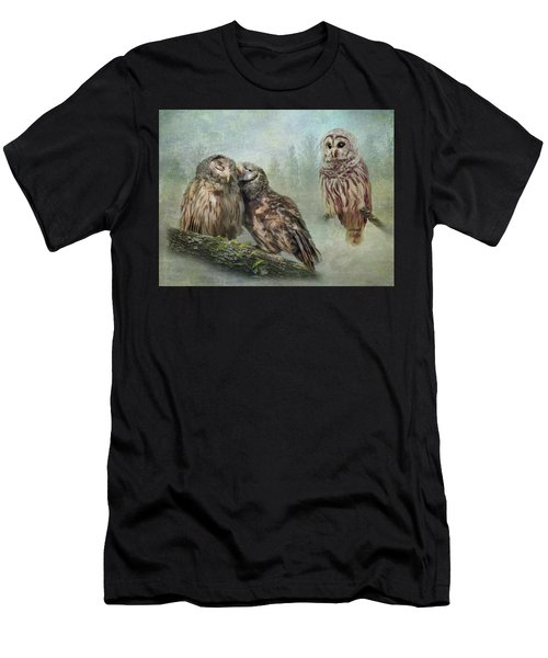 Barred Owls - Steal A Kiss Men's T-Shirt (Athletic Fit)