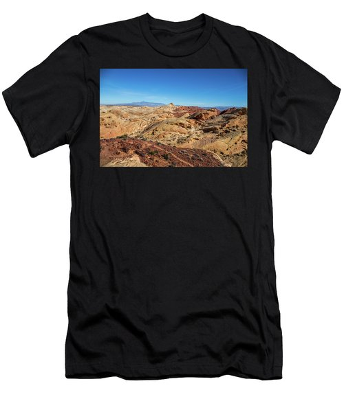 Barren Desert Men's T-Shirt (Athletic Fit)