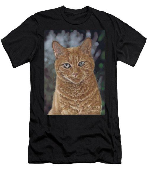 Barry The Cat Men's T-Shirt (Athletic Fit)