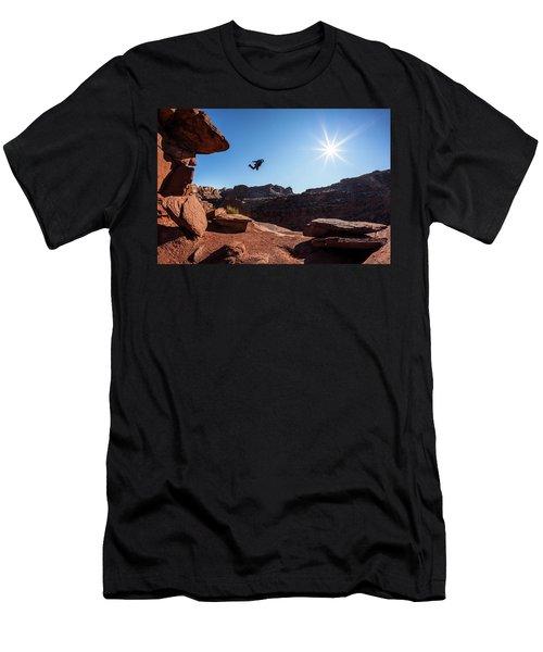 Base Jumper Men's T-Shirt (Athletic Fit)