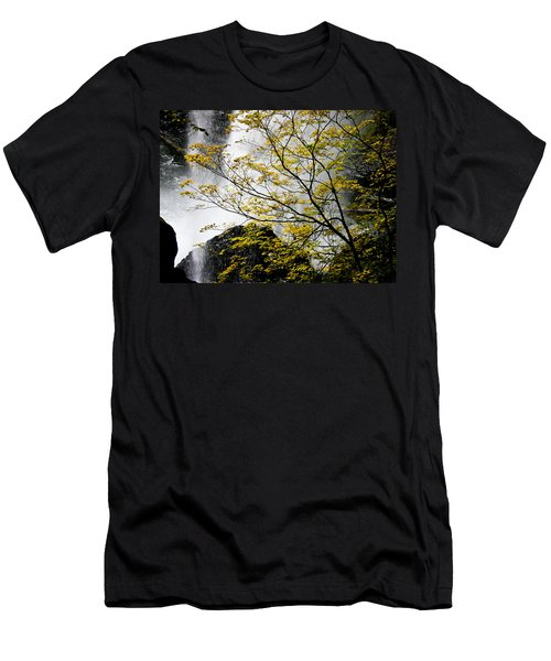 Base Of The Falls. Men's T-Shirt (Athletic Fit)