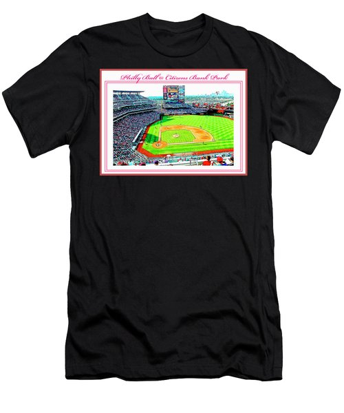 Baseball In Philly Men's T-Shirt (Athletic Fit)