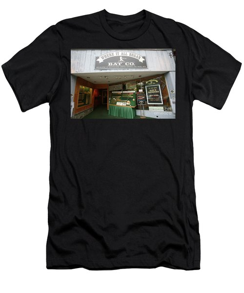 Baseball Retail Store Cooperstown Ny Men's T-Shirt (Athletic Fit)