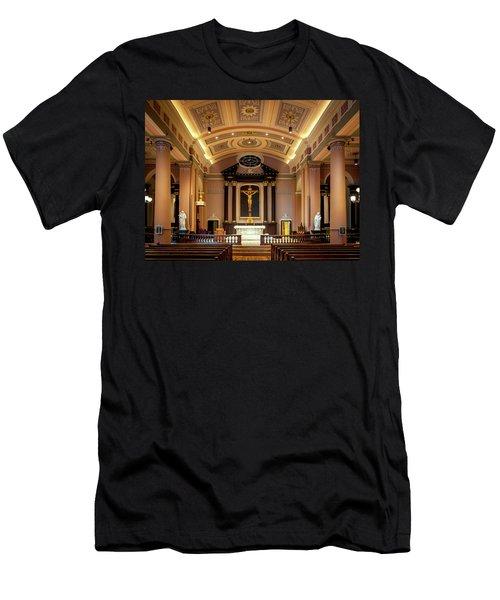 Basilica Of Saint Louis, King Of France Men's T-Shirt (Athletic Fit)