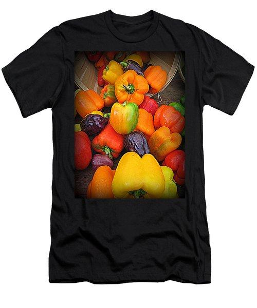 Basket Full O'peppers Men's T-Shirt (Athletic Fit)