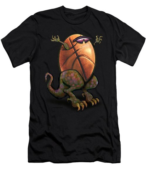 Basketball Saurus Rex Men's T-Shirt (Athletic Fit)