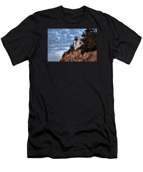 Bass Harbor Light No. 2 - Acadia - Maine Men's T-Shirt (Athletic Fit)