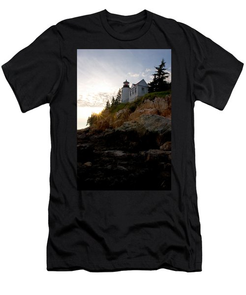 Bass Harbor Lighthouse 1 Men's T-Shirt (Athletic Fit)