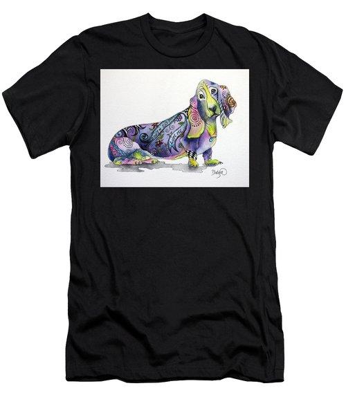 Basset Hound Horace Men's T-Shirt (Athletic Fit)