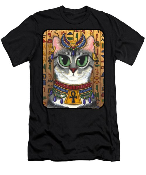 Bast Goddess - Egyptian Bastet Men's T-Shirt (Athletic Fit)