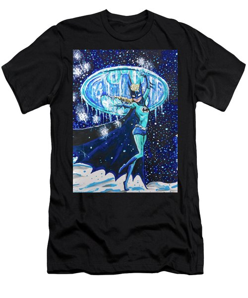 Men's T-Shirt (Athletic Fit) featuring the painting Bat Elsa by Joel Tesch