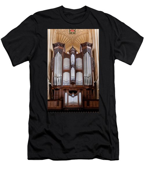 Bath Abbey Organ Men's T-Shirt (Athletic Fit)