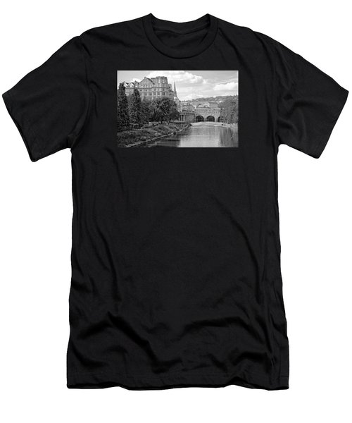 Men's T-Shirt (Athletic Fit) featuring the photograph Bath On Avon By Mike Hope by Michael Hope