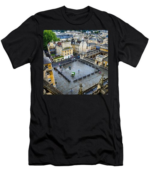 Bath Square Men's T-Shirt (Athletic Fit)