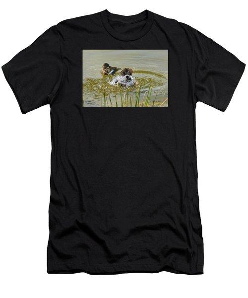 Bathing Men's T-Shirt (Athletic Fit)