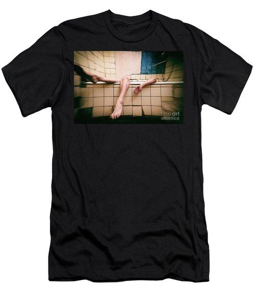 Bathroom #7866 Men's T-Shirt (Athletic Fit)