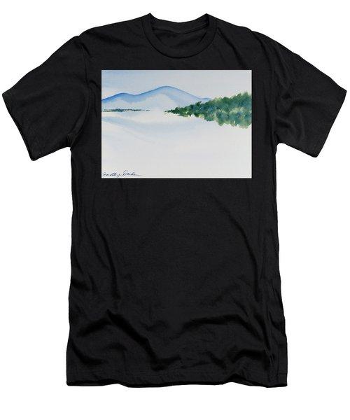 Bathurst Harbour Reflections Men's T-Shirt (Athletic Fit)