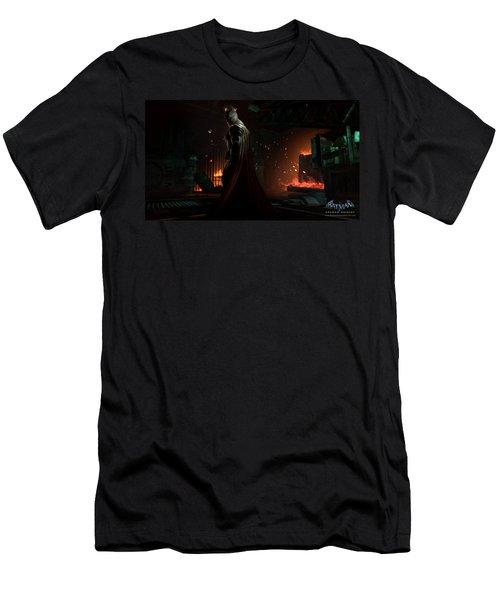 Batman Arkham Origins Men's T-Shirt (Athletic Fit)