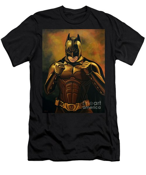 Batman The Dark Knight  Men's T-Shirt (Athletic Fit)