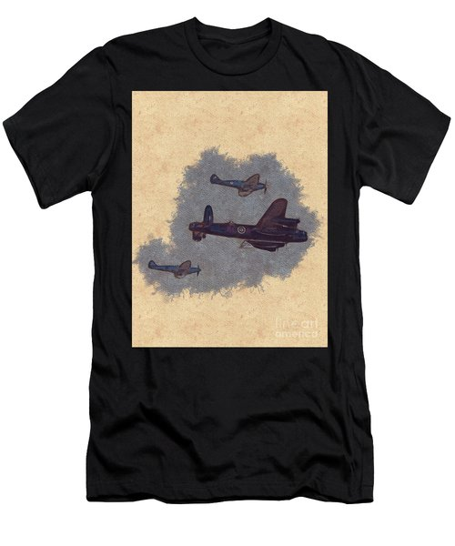 Battle Of Britain Fly Past Men's T-Shirt (Athletic Fit)
