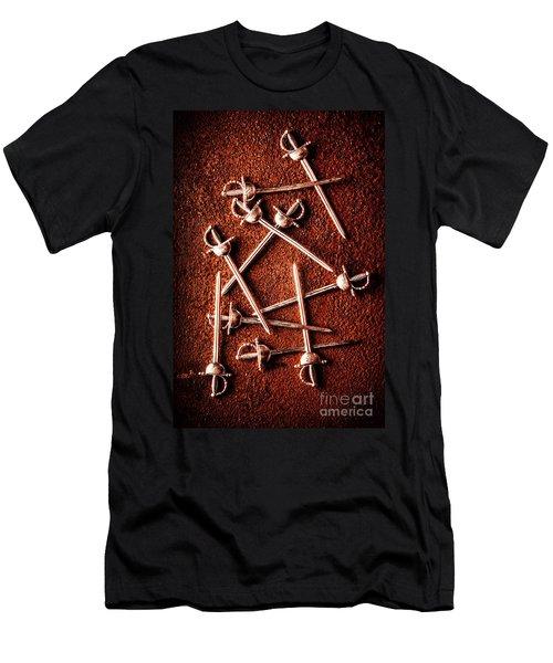 Battle Of Swords Men's T-Shirt (Athletic Fit)