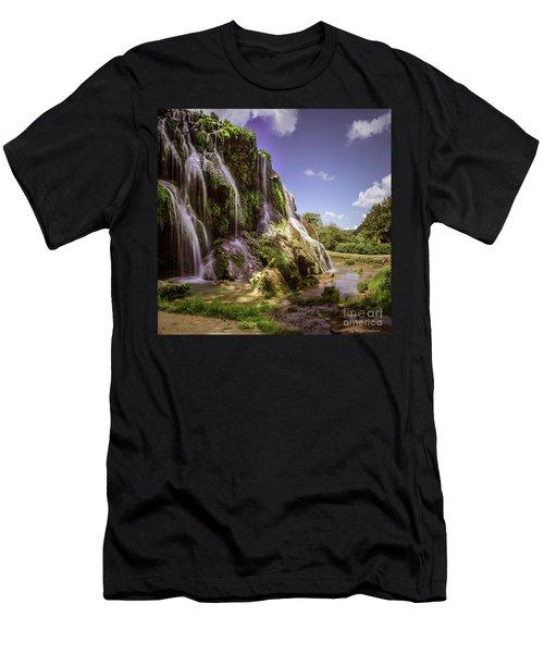 Baume Les Messieurs, France. Men's T-Shirt (Athletic Fit)