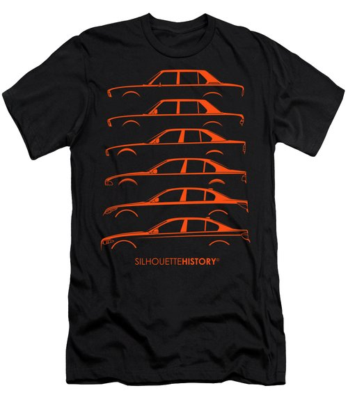 Bavarian Five Silhouettehistory Men's T-Shirt (Athletic Fit)