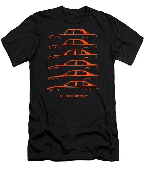 Bavarian Five Silhouettehistory Men's T-Shirt (Athletic Fit)