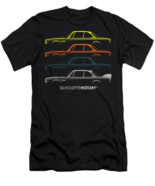 Bavarian Gt 50 Years Silhouettehistory Men's T-Shirt (Athletic Fit)