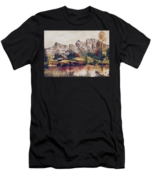 Bavarian Landscape Men's T-Shirt (Athletic Fit)