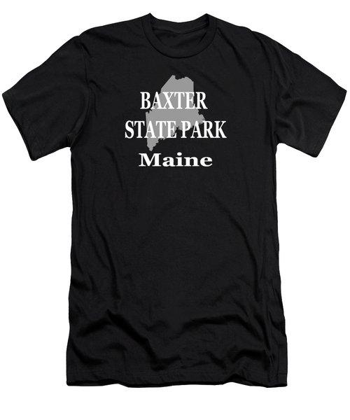 Baxter State Park Pride Men's T-Shirt (Athletic Fit)