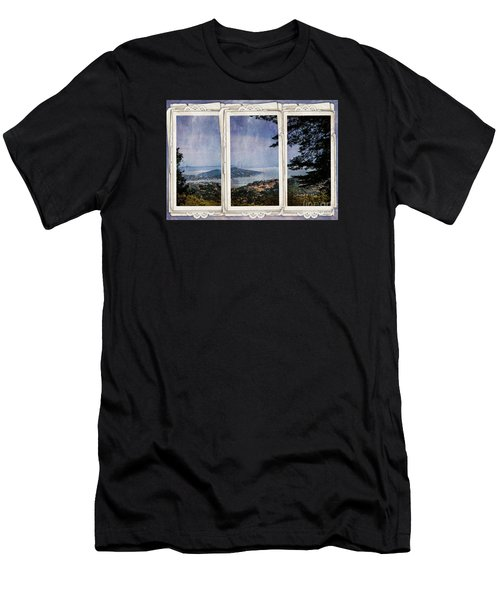 Men's T-Shirt (Slim Fit) featuring the photograph Bay Area by Judy Wolinsky