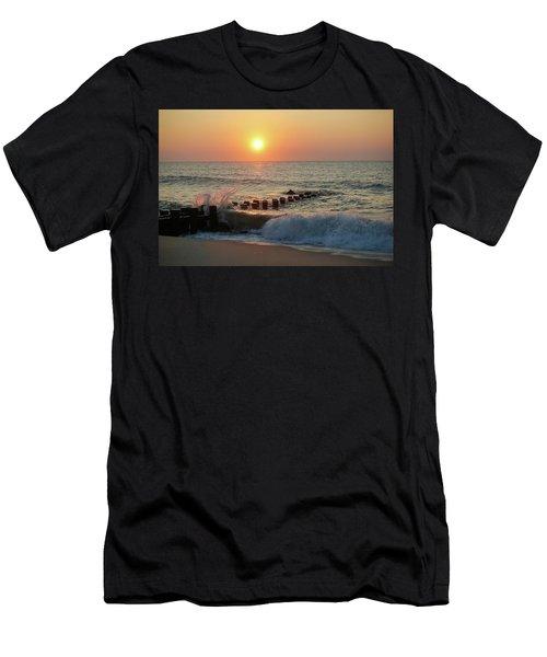 Bay Head Beach Sunrise 1 Men's T-Shirt (Athletic Fit)
