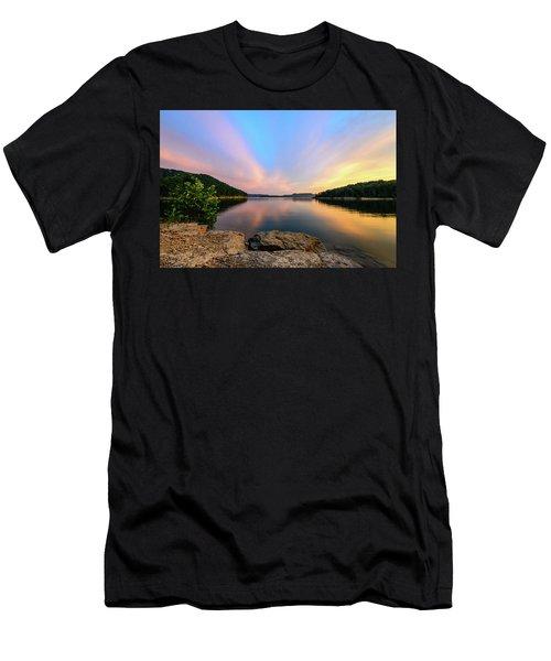 Bay Light Men's T-Shirt (Athletic Fit)